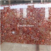 Luxury High-Quality Semiprecious Stone Slabs, Gem Stone Slabs