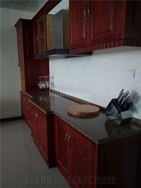 Red Quartz Countertop Kitchen Countertops