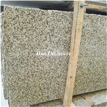 Slabs Type Xinjiang Gold Karamay Gallaxy Gold Granite Wall Flooring