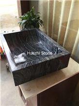 Zacapa Negro Marble Sinks