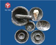 Natrual Granite Kitchen Dining Accessories Pestles Mortars Trays Bowls