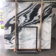 China Panda White Marble Tiles & Slabs