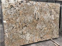 Polished Golden Cream Granite Slabs&Tiles Flooring&Walling