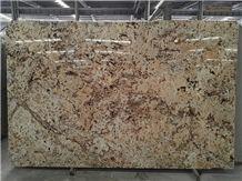 Polished Golden Cream Granite Tiles&Slabs Granite Flooring&Walling