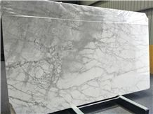 Fine Lines Snow White Marble for Wall and Floor Covering