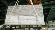 Light Grey with Yellow Veins Marble for Wall and Floor Covering
