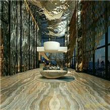 Roma Impression Blue Marble,Monet Sky Slab