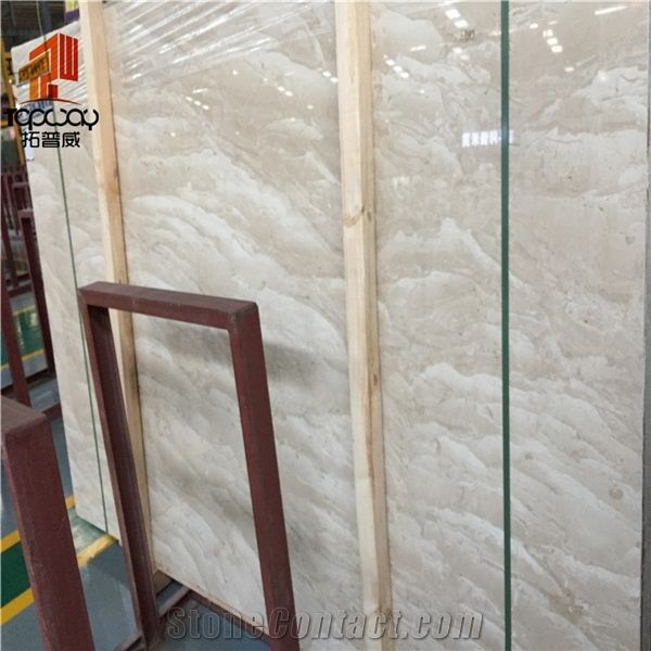 China Building Materials Cream Beige Oman Marble Floor Polishing