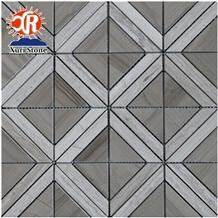 Exquisite Marble Mosaic Athens Wood Grain, Hotel Decorative Stone