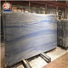 Polished Grand Skylight Blue Sky Quartzite Slab on Sale