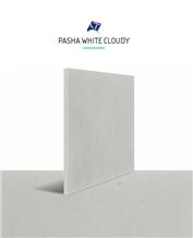 Pasha White Cloudy Marble Tiles & Slabs