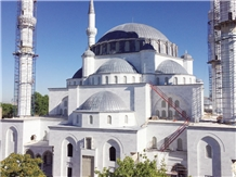 Pasha White Extra Marble Mosque Project