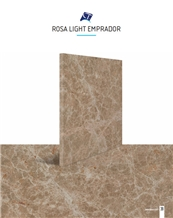 Rosa Light Emperador Marble Tiles & Slabs
