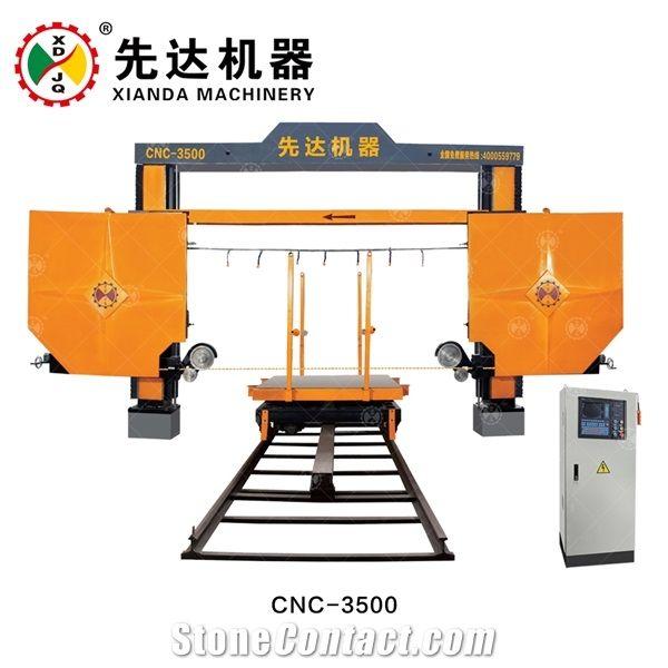 Cnc Diamond Wire-Saw Machine Cnc-3500 from China - StoneContact.com