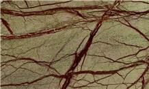 Bidasar Green Marble, Rain Forest Green Slabs