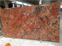 Alaska Red Granite Slabs