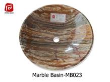 Bamboo Jade Onyx Round Basin Sink