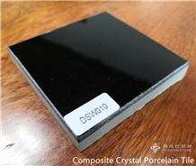 Super Black Composite Crystal Porcelain Tiles,Wall & Floor Cladding