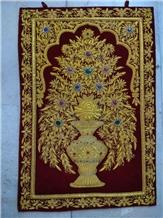 Handmade Wall Hanging Jewel Carpet