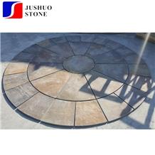 China Radibush Slate,Radibush Gold Slate,Radibush Yellow Flooring Tile