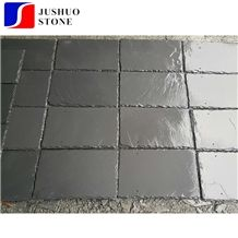 Flat Surfact Black Slate Roof Tile Coating/Covering Buidling Materials