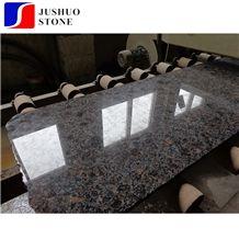 Giallo California Brown Pearl Granite Slabs Tiles for Countertop