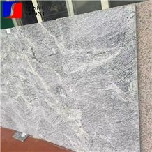 Indian Same Material New China Viscount White Granite Flamed Wall Tile