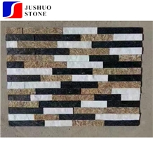 Mixed Color Pizarra Laja Verde Slate/Quartzite Wall Cladding Tile
