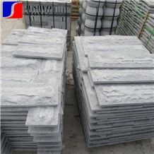 Natural Split G654 Mushroomed Cladding Stone Tiles for Wall Cladding