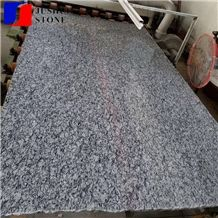 Polished Spindrif Sea-Wave White Granite Slabs for Flooring/Wall Cover