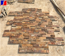 Rustic Slate Culture Stone for Wall Cladding Decoration Conner Bricks