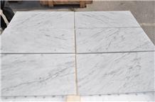 Bianco Carrara C White Marble Tiles Slabs
