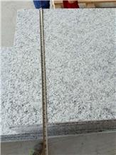 New G602 Bianco Sardo Flamed Granite Pavers