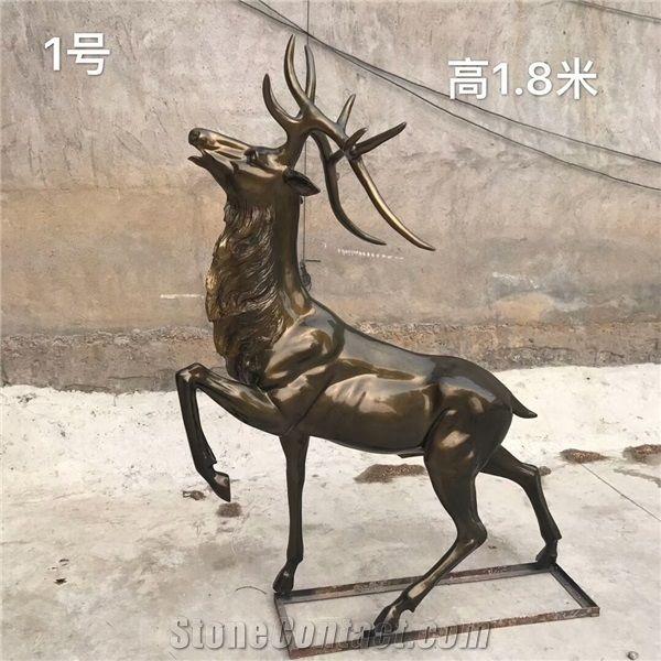 Animal Sculptures Deer Statues Abstract Statues Outdoor Decorations - Animal Sculptures Deer Statues Abstract Statues Outdoor Decorations