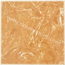 Finland Emperador Gold Quartz Stone/Artificial Marble Stone Slabs&Tile