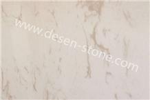 Louis Beige Artificial Marble Engineered Stone Slabs&Tiles for Vanity Tops