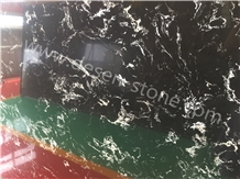Silver Grey Dragon Artificial Marble Engineered Stone Slabs&Tiles Wall