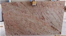 Ivory Pink Granite Slabs