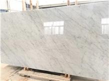 Blanco Carrara White Marble Slab for Floor&Wall