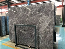Hermes Grey /Brown /Emperador Fume Marble Polished Slab&Tile for Floor
