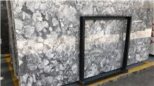 Karst Grey Marble Polished Slab/Tile/Cut to Size for Floor & Wall