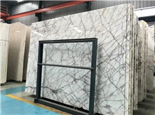 White Sequoia Marble Polished Slab/Tile/Cut to Size for Floor & Wall