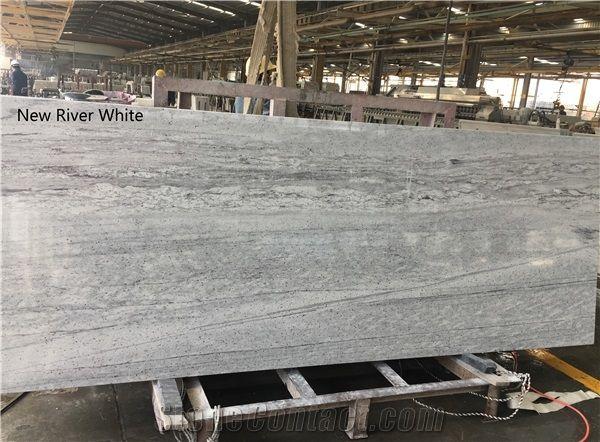 New River White Granite Kitchen Countertops From China