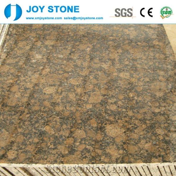 Polished Baltic Brown Finland Import Granite Slabs Tile For S