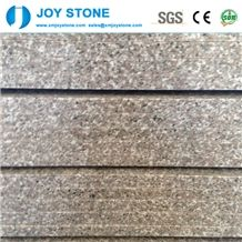 Polished G636 China Rosa Beta Light Pink Granite Stair Tread Step