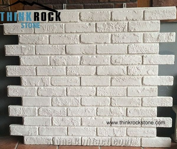 Faux Stone Siding Panel White Color Bricks Veneer Facad Walling Tile From China Stonecontact Com