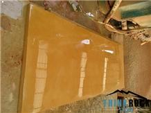 Honed Yellow Sandstone Small Slabs Yellow Sandstone Flooring Tiles