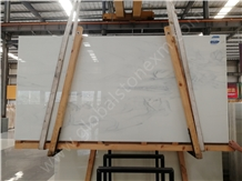 Calacatta White Granite Jade, Nano Glass, for Elegant Interior Decor