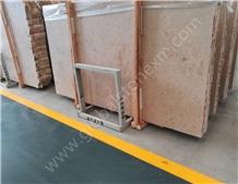 Jura Beige Limestone Slab Germany Tiles for Indoor Decoration