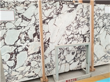 Calacatta Viola Violet Bookmatch Marble Slabs